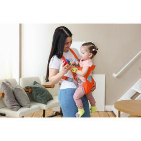 Рюкзак-кенгуру для малыша «Зайка», от 3 до 10 кг Ош