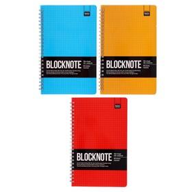 Бизнес-Блокнот А5, 60 листов на гребне, Ultimate basics Active book, картонная обложка, микс из 3-х видов