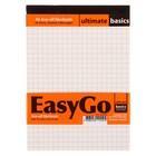 Блокнот А6, 60 листов Ultimate basics. EysyGo, перфорация на отрывной части, жёсткая подложка