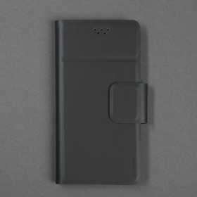 """Чехол-книжка для телефона Maverick Slimcase, универсальный, размер 5-5.2"""", чёрный"""