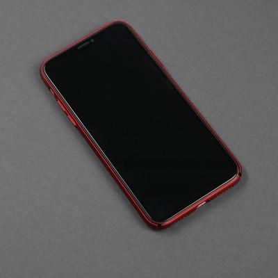 Чехол для телефона Air case для Apple Iphone X/Xs, перфорированный, красный