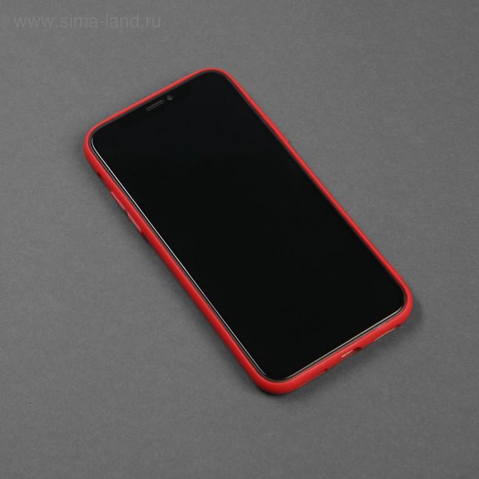 Чехол для телефона Matt case для Apple Iphone X/Xs, матовый, красный