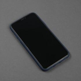 Чехол для телефона Matt case для Apple Iphone X/Xs, матовый, синий