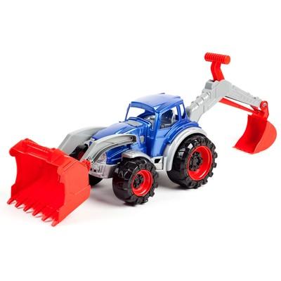 Трактор «Техас погрузчик-экскаватор», МИКС - Фото 1