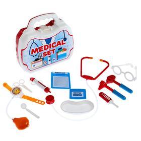 Набор медицинский «Доктор», в чемодане, МИКС