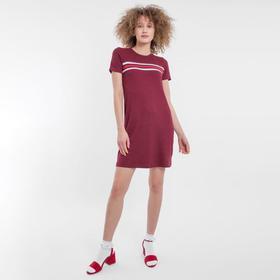 Платье женское, цвет спелая вишня, размер 46 (M) Ош