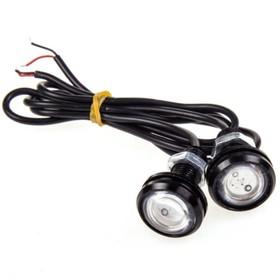 Лампа для комбинирования фонаря дневного ходового огня, красная 1.5 R (~25х35х25мм), 2 шт Ош