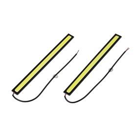 Дневные ходовые огни  Skyway 12V 1 COB диод (~175х3х15 мм) 2шт Ош