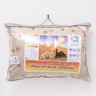 Подушка Адамас, размер 50х70 см, верблюжья шерсть, чехол тик - Фото 4
