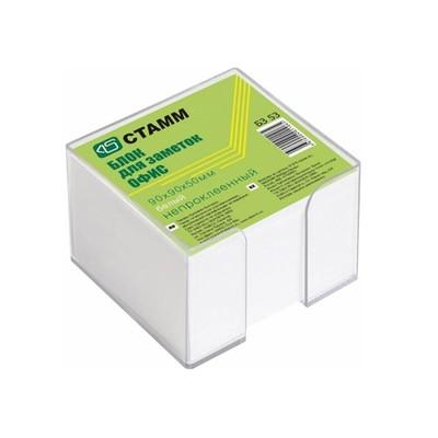 Блок бумаги для записей «Офис», 9 x 9 x 5 см, 65 г/м²