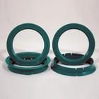 Пластиковое центровочное кольцо К&К 67,1-64,1 бирюзовые