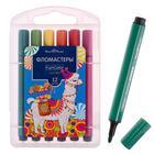 Фломастеры 12 цветов Funcolor Jumbo утолщённые, в пластиковом пенале - Фото 1