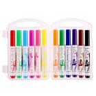 Фломастеры 12 цветов Maxicolor с утолщённым стержнем, в пластиковой коробке - Фото 2