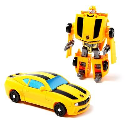 Робот «Спорткар», трансформируется, МИКС - Фото 1