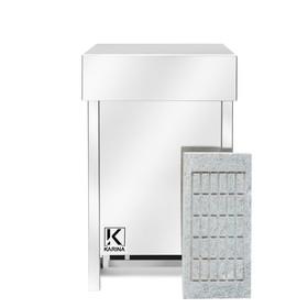 Электрическая печь Karina Eco 3, нержавеющая сталь, камень талькохлорит Ош