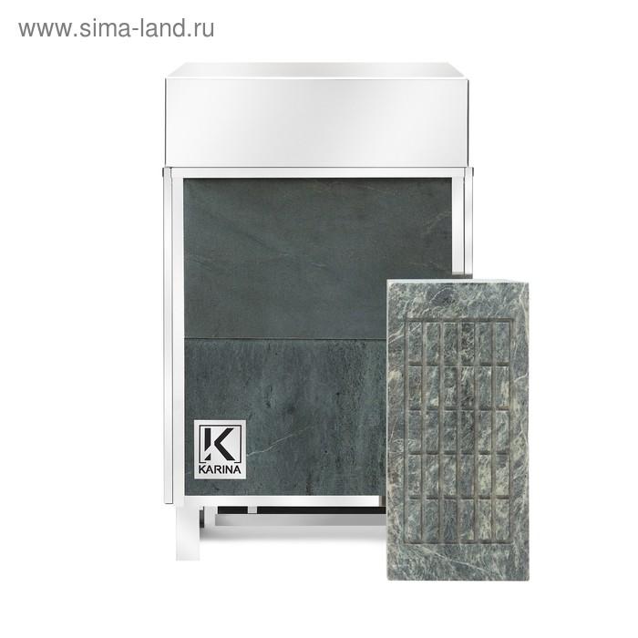 Электрическая печь Karina Elite 12, нержавеющая сталь, камень талькохлорит