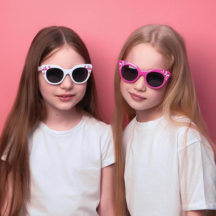 Очки солнцезащитные детские Мастер К.,  uv400, 13х13х4 см, линза 4х4.5 см, микс
