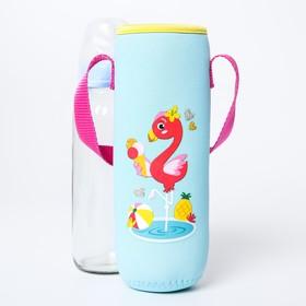 Термосумка для бутылочки 'Фламинго' Ош