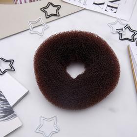 Валик для волос (коричневый, большой) Ош