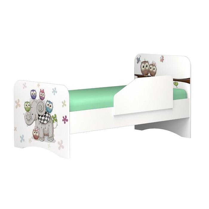 Бортик к кровати Смарти, 800х48х336, Белый