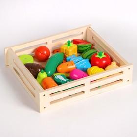 Набор овощей и фруктов, серия «Тук-тук» 33 элемента