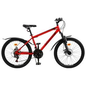 Велосипед 24' Progress модель Stoner Disc RUS, цвет красный, размер 15' Ош