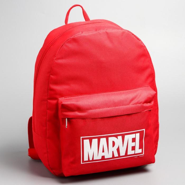 купить Рюкзак молодёжный Marvel, 29 х 12 х 37 см, отдел на молнии, нкарман