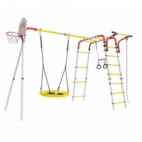 Детский спортивный комплекс уличный «Акробат 2», 3510 × 2370 × 2045 мм, качели гнездо