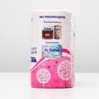 Туалетная бумага Soffione Decoro Pink, 2 слоя, 4 рулона - Фото 3