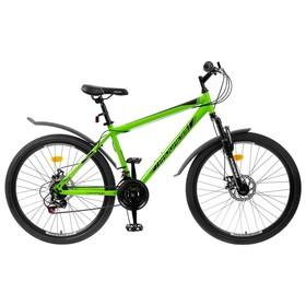 Велосипед 26' Progress модель Advance Disc RUS, цвет зеленый, размер 19' Ош