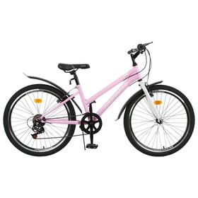 Велосипед 24' Progress Ingrid low, цвет розовый/белый, размер 13' Ош