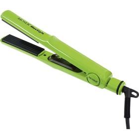 Щипцы-гофре Moser 4415-0050, 40 Вт, 150-230 °C, 24 х 90 мм, шнур 2.8 м, зелёные