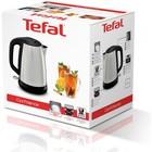 Чайник Tefal KI270D30, металл, 1.7 л, 2400 Вт, автоотключение, чёрно-серебристый - Фото 5