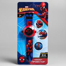 Часы с проектором «Человек-паук», Disney