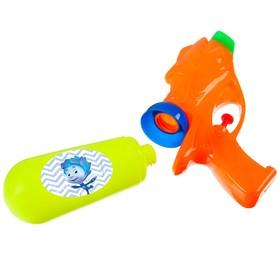 Водный пистолет «Водная Фикси Пулялка», ФИКСИКИ, цвет МИКС