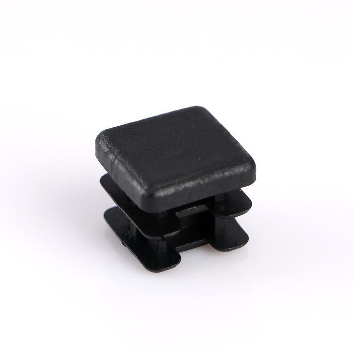Заглушка внутренняя 20?20 мм, универсальная, черная
