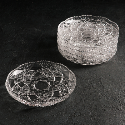 Набор тарелок Larous, d=19 см, 6 шт - Фото 1