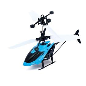 Вертолет «Прогулочный», свет, USB, МИКС, в пакете Ош