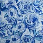 Постельное бельё Этель 1.5сп «Голубые пионы» 143х215 см, 150х70 см-2шт, 100% хлопок, перкаль - Фото 3