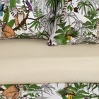 Постельное бельё Этель 1.5 сп «Лемур» 143х215 см, 150х214 см, 70х70 см-2 шт - Фото 2