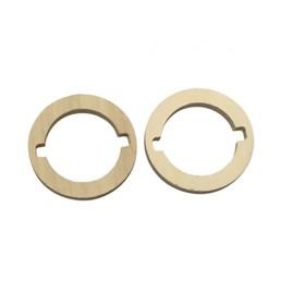 Проставочные кольца FAN-TW1-5, для рупоров, фанера 9 мм, набор 2 шт Ош