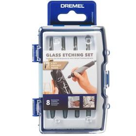 Набор для работ по стеклу Dremel 2615C682JA, 8 насадок