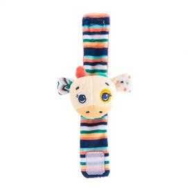 Игрушка-погремушка на ручку «Жираф Спот»