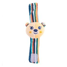 Игрушка-погремушка на ручку «Мишка Берни»
