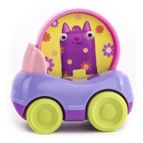 Машинка «Кошечка Мяу», с кругом
