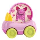 Машинка «Поросёнок Хрю», с кругом