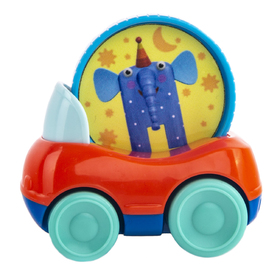 Машинка «Слон Ду-Ду», с кругом
