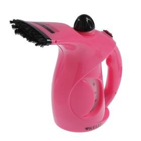 Отпариватель ручной KELLI KL-316, 1650 Вт, 0.25 л, розовый