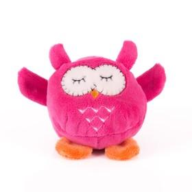 Мягкая игрушка «Мячик - Розовая сова», 7 см