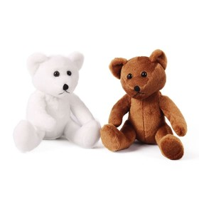 Мягкая игрушка «Мишка», 15 см, цвет МИКС